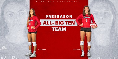 Foecke, Maloney Named to Preseason All-B1G Team