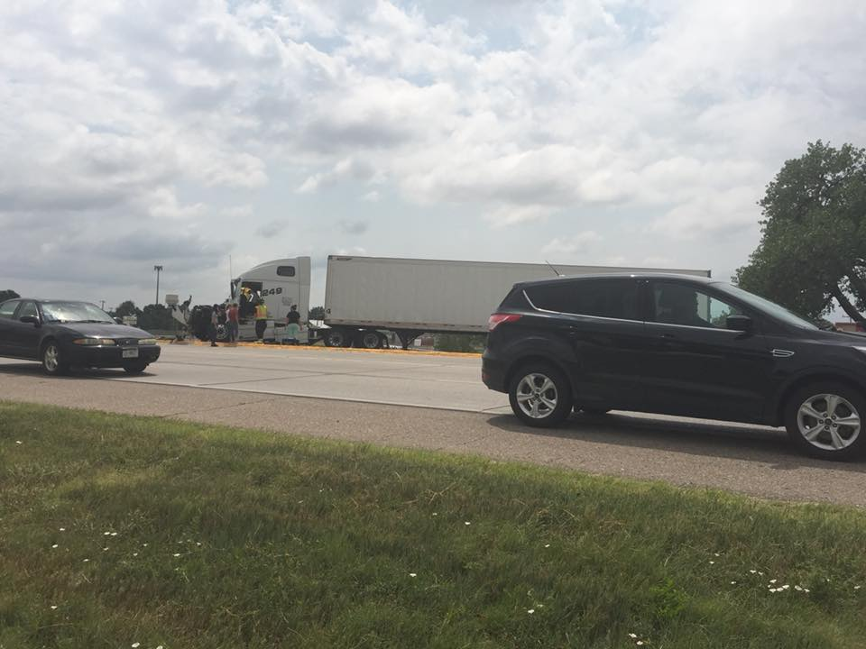 Both drivers in good condition at Regional West after Highway 26 and Avenue B accident