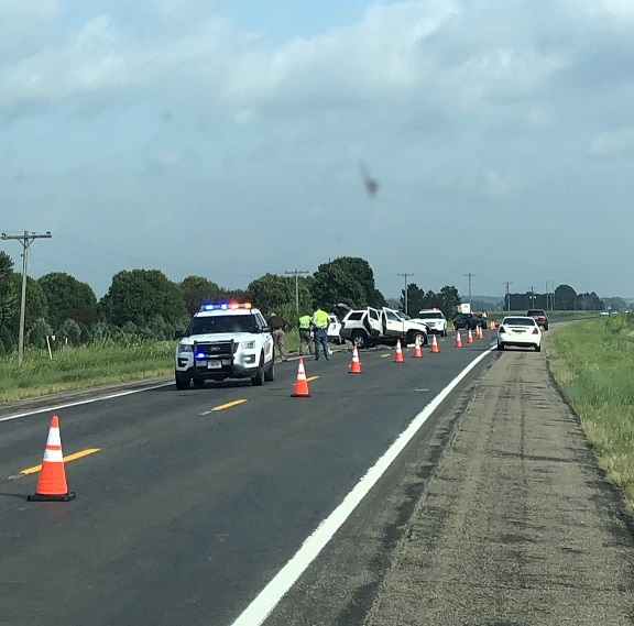 (UPDATE) West Point woman dies, Fremont man life flighted in Highway 275 accident