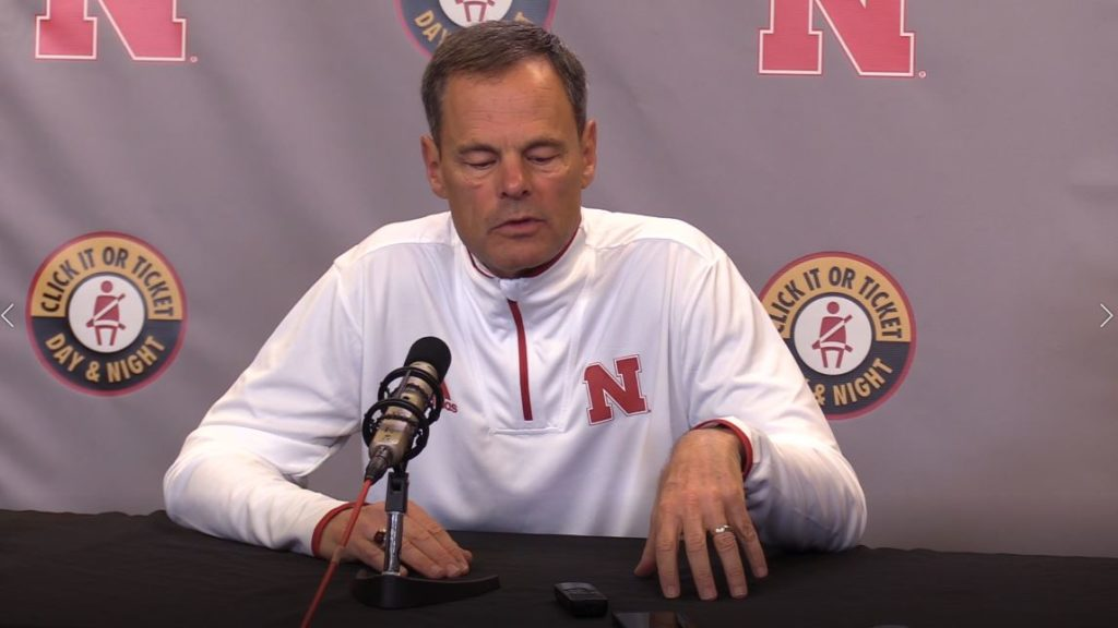 (WATCH LIVE) John Cook at weekly Husker press conference