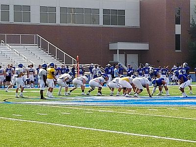 (Video) UNK Holds First Scrimmage Of Fall Camp