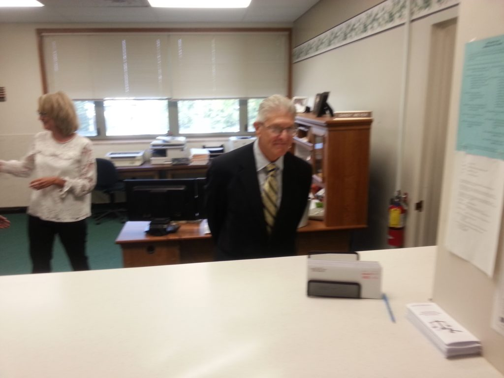 (Audio) Chief Justice Heavican Visits Cuming County Courthouse