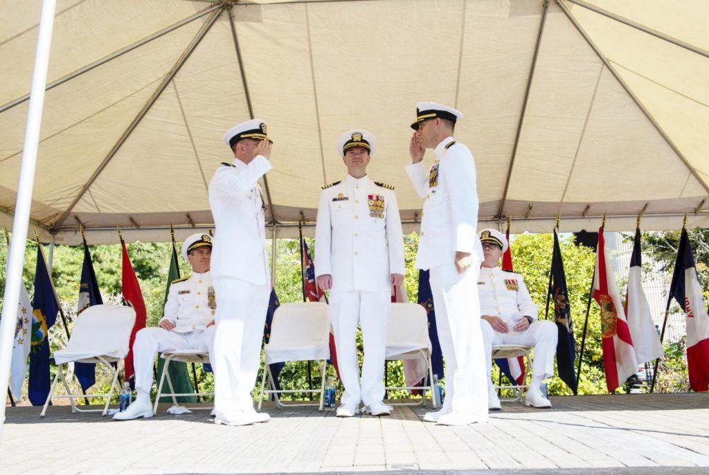 Nebraska's namesake ship, USS Nebraska, welcomes new commanding officer