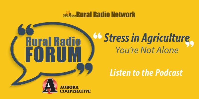 Rural Radio Forum – Stress in Agriculture