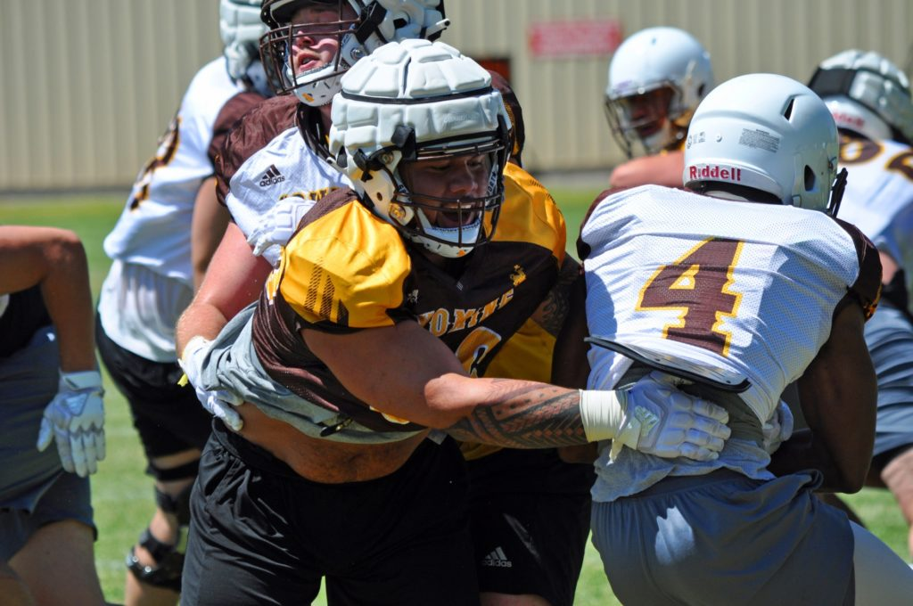 Wyoming to Practice in Full Pads for First Time This Fall on Wednesday