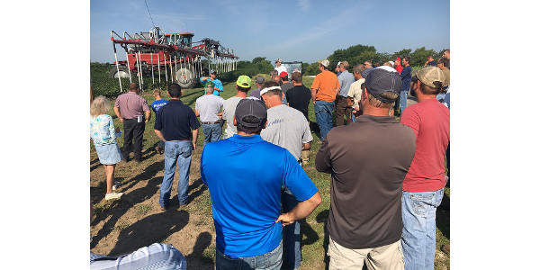 Soil health field day in Shelby, Nebraska