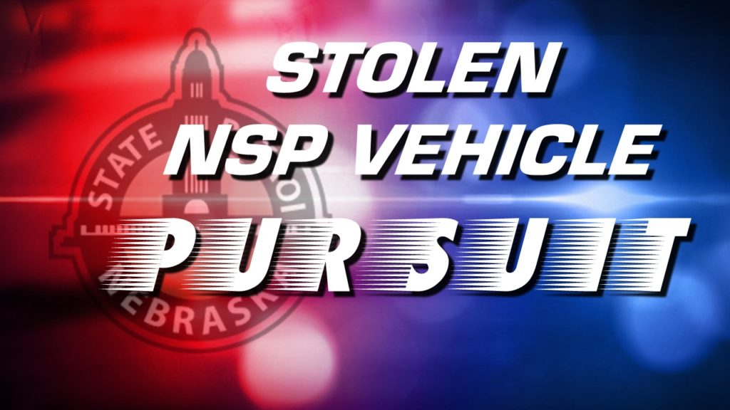 Iowa Woman Apprehended After Stealing Unmarked NSP Vehicle