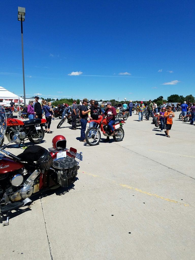 Vintage motorcycles to pack Bluffs parking lot Saturday