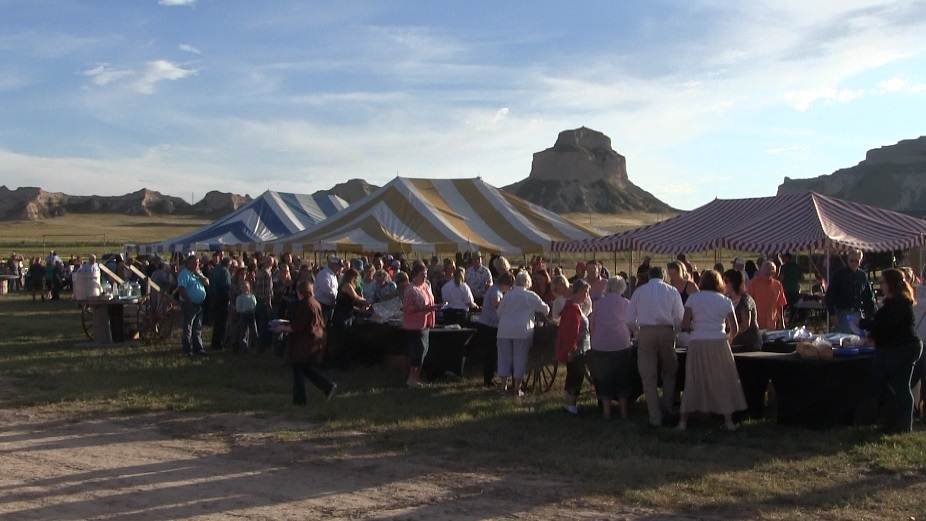 Hundreds come out to enjoy revival of Oregon Trail Wagon Train benefit for Legacy of the Plains Museum