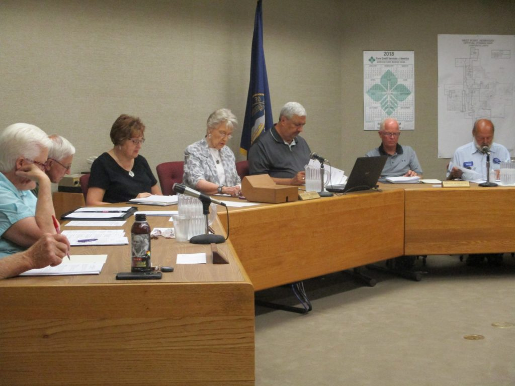 (Audio) West Point City Council  Meeting 8-7