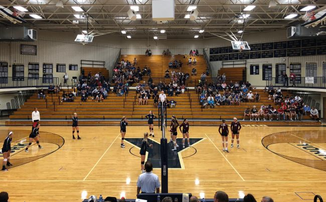 (Audio) Columbus downs York in three sets