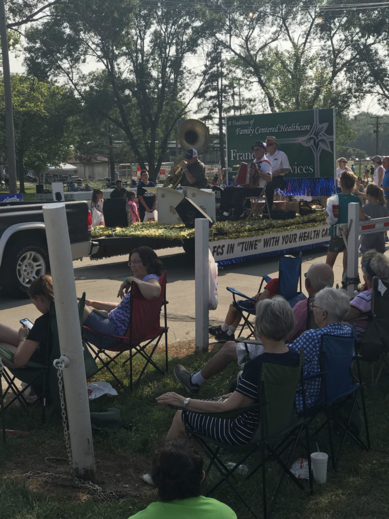 Great Weather Greets Fair Goers At Cuming County Parade