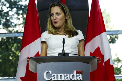 Freeland resumes NAFTA talks in Washington as Congress grows restless