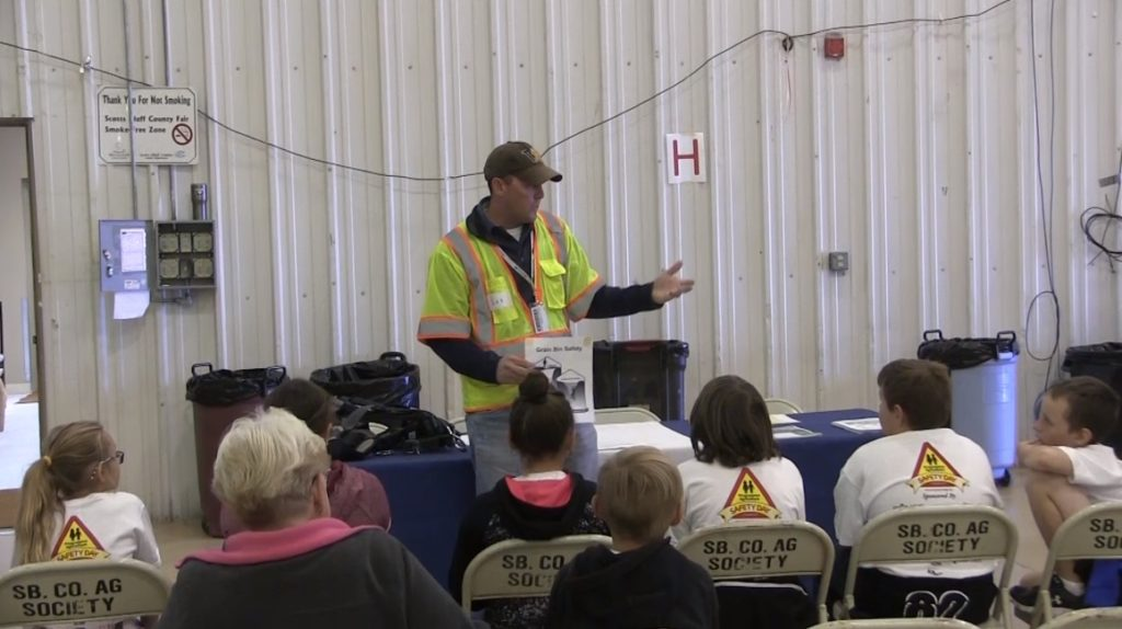 Local students learn during Progressive Agriculture Safety Day