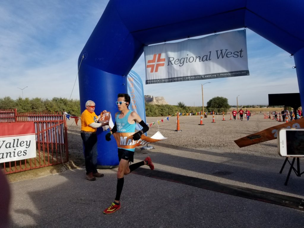 Record times at the PVC Monument Marathon