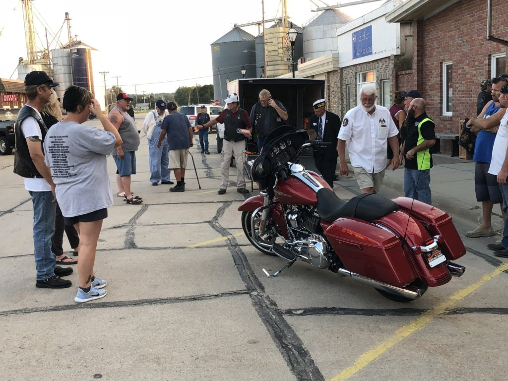 (Audio) Fremont Man Wins Legion Riders' Top Raffle Prize