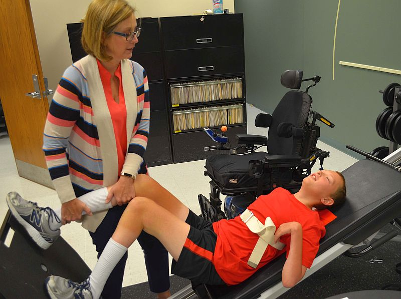 UNMC research exploring different therapies' effects in children with cerebral palsy to increase mobility