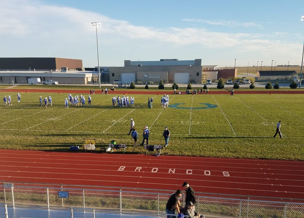 (Audio) Centennial survives scare from Aquinas Catholic