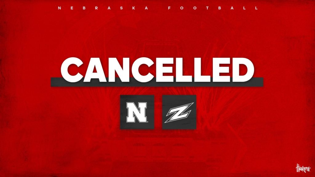 Nebraska and Akron football cancelled due to weather