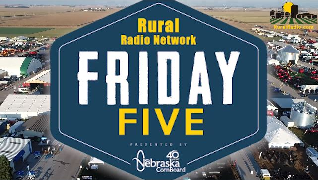 (Video) Friday Five – Husker Harvest Days Special Edition