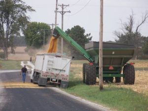 No one injured in four power line accidents with harvest equipment