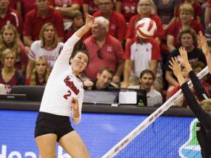 Nebraska's Foecke, Hames Earn Big Ten Weekly Honors