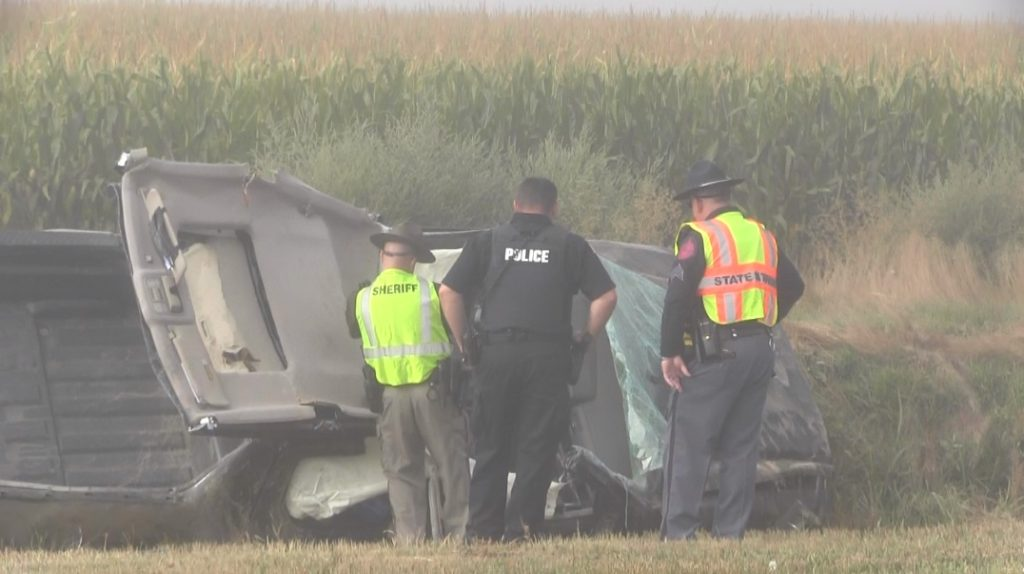 Scotts Bluff County woman hospitalized following Friday morning accident