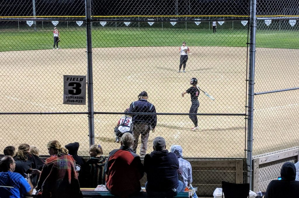 Haymakers Hold On To Defeat Swedes In Softball