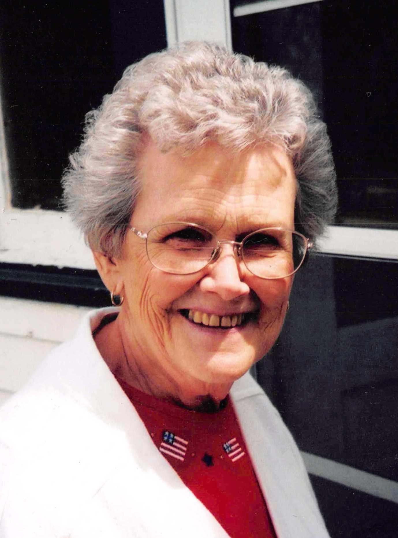 Laura  Block, 92, of Gothenburg, Nebraska