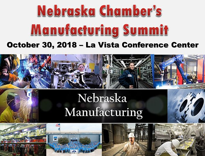 Nebraska Chamber's Manufacturing Summit Set For Oct. 30