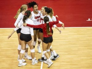 Nebraska Volleyball opens up Conference play with win over Michigan