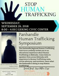 Panhandle human trafficking symposium scheduled for Wednesday in Gering