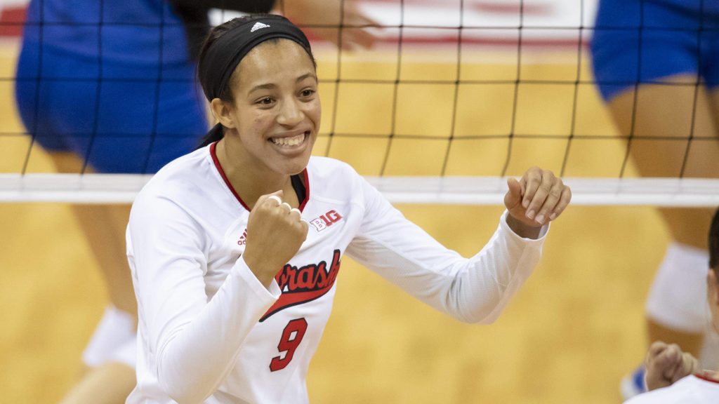 Huskers Rally to Beat No. 14 Creighton in Five