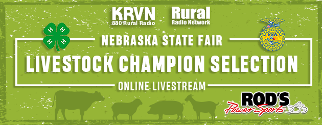 WATCH LIVE: Now Streaming Nebraska State Fair Champion Selection Shows