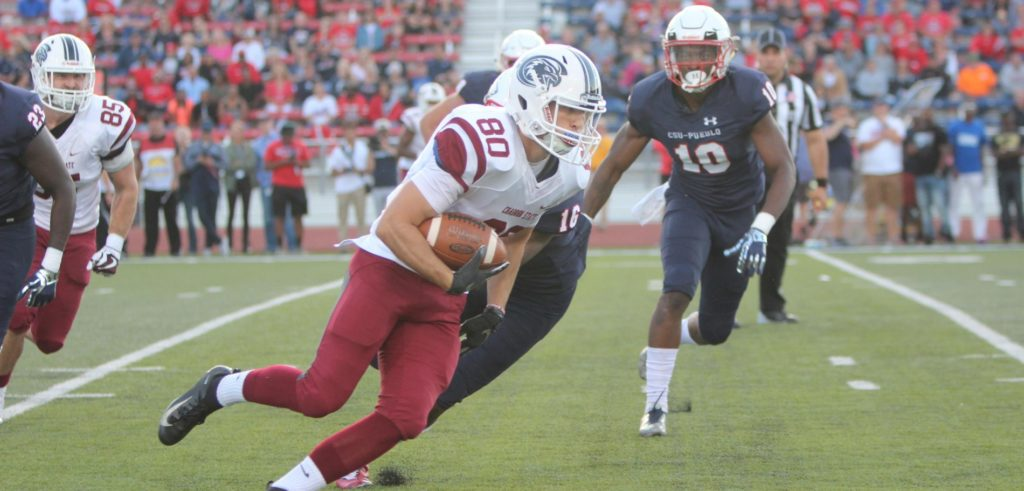 CSU-Pueblo takes control early in 34-13 win over Eagles