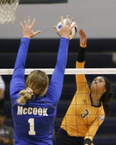 WNCC tops McCook in four sets