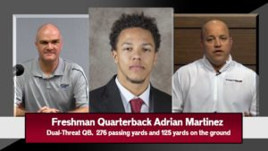 HuskerChat: Callahan on Martinez: 'This is as good as you're gonna see' (NE vs. Bethune Cookman)