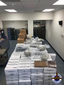 1,640 LBS OF THC EDIBLES, WAX, MARIJUANA FOUND IN I-80 TRAFFIC STOP NEAR MILFORD