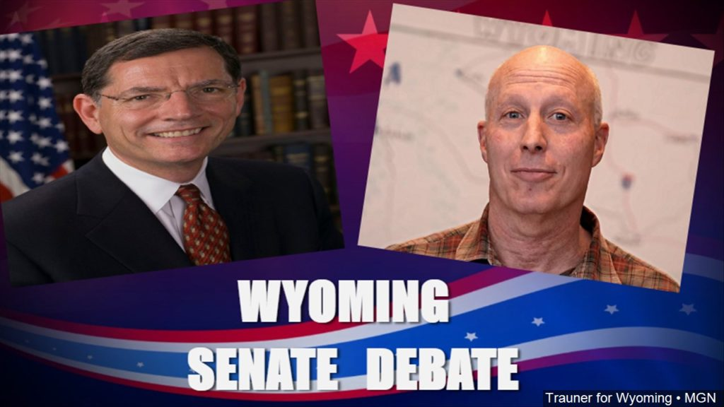 Is Wyoming in good shape? Senate candidates disagree