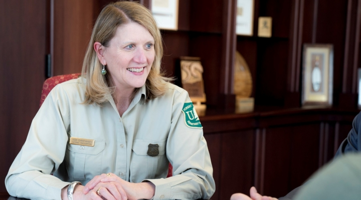 Perdue announces new Forest Service chief