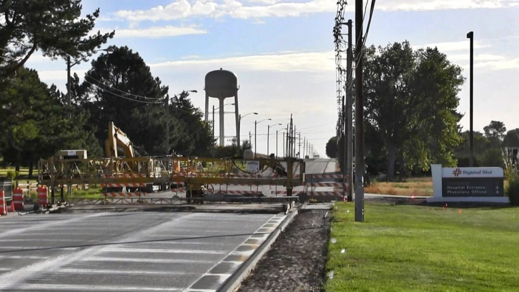 Scottsbluff 42nd Street Construction Phase 5 to Begin Monday