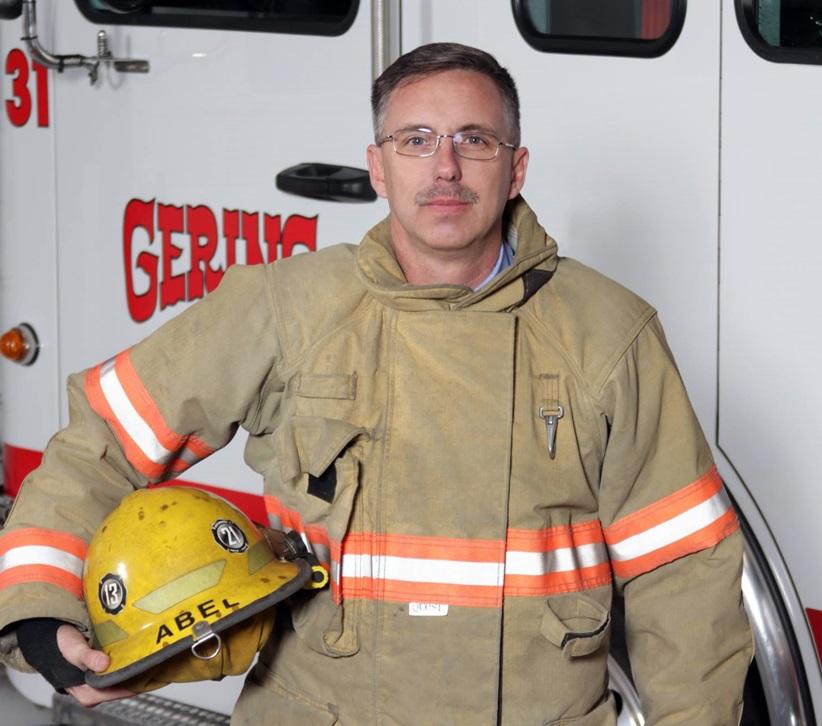 Parrish Abel new President of Nebraska State volunteer firefighters group