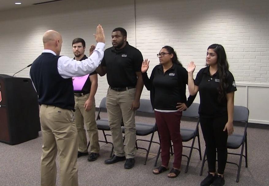 New Americorps service members sworn into SBPS program