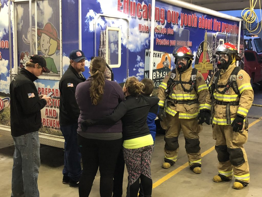 (Audio) Open House At Beemer Fire Hall For Fire Prevention Week