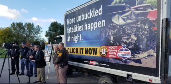 (Audio) Neb. Highway Safety Office Kicks off Fall Seat-Belt Campaign