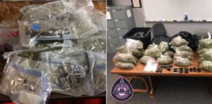 Troopers Find Multiple Controlled Substances, Gun in Traffic Stops