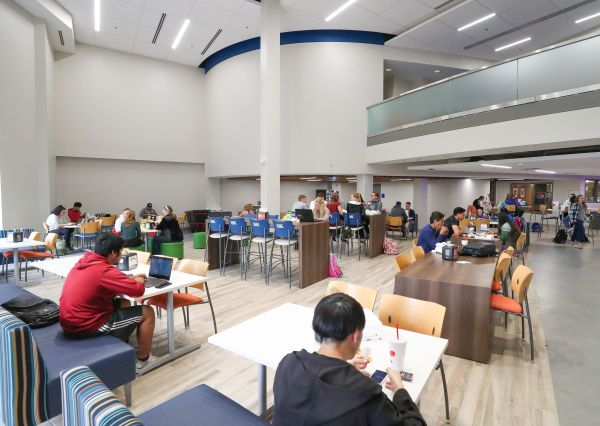 UNK student union nears completion; Video wall technology coming soon