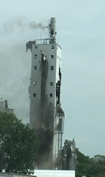 City sues owner of grain elevator that exploded