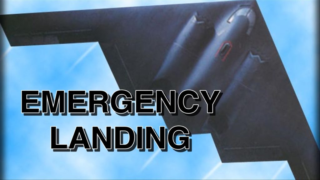 Missouri-based B2 lands in Colorado Springs after emergency
