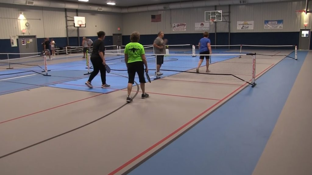 New softer synthetic floor installed at Carpenter center Gymnasium